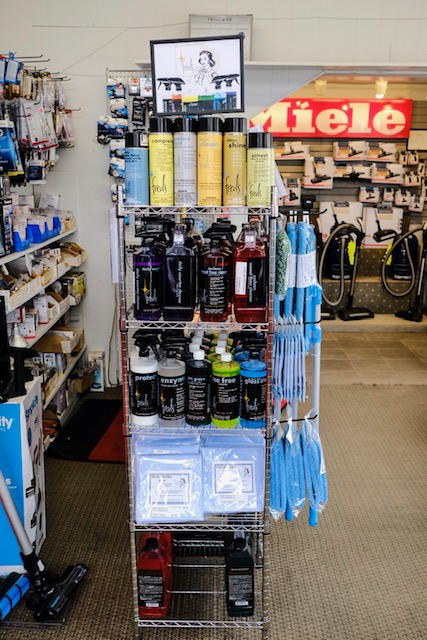 Phil's Electric in San Francisco California becomes the first to have the new clean center display